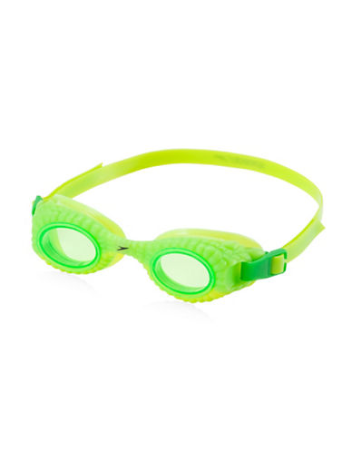 Speedo Scales and Tails Goggles-LIME-One Size