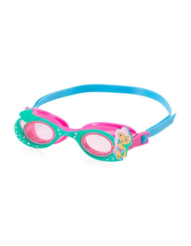 Speedo Scales and Tails Swim Goggles-PINK-One Size