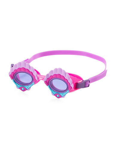 Speedo Scales and Tails Swim Goggles-LAVENDER-One Size
