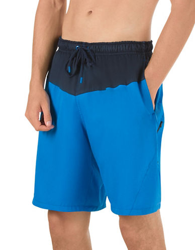 Speedo Colourblock Volley Shorts-BLUE-X-Large 88937985_BLUE_X-Large