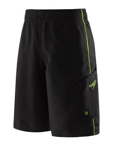 Speedo Marina Volley Board Shorts-LIME-X-Large