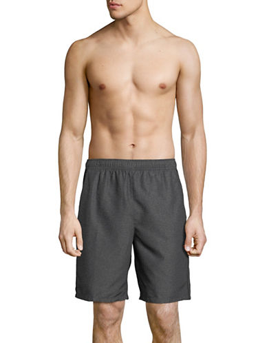 Speedo Cutback Volley Swim Shorts-GREY-X-Large