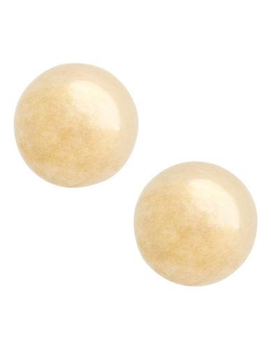 Fine Jewellery 14K Yellow Gold Ball Earrings-YELLOW GOLD-One Size