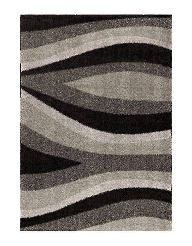Home Outfitters Flume Black Taupe Area Rug-TAUPE-5 x 8
