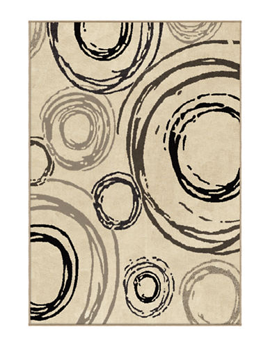 Home Outfitters Centric Area Rug - 94 Inch x 130 Inch-BEIGE-8 x 11