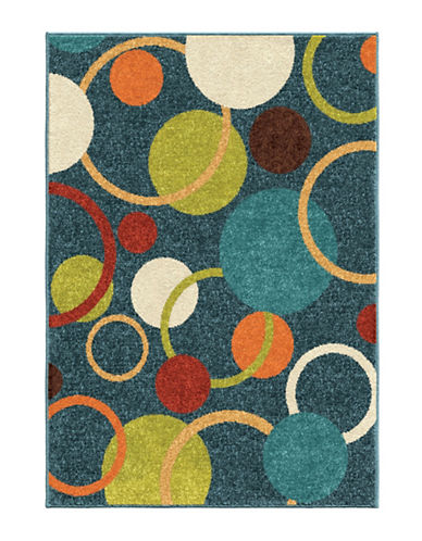 Home Outfitters Gumball Area Rug-BLUE-4 x 6