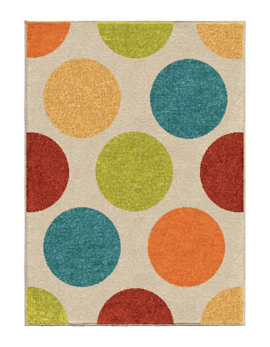 Home Outfitters Silly Circles Kids Area Rug-MULTI-4 x 6