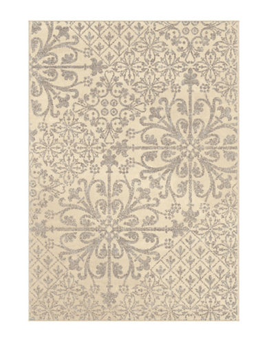 Home Outfitters Messina Cream Area Rug-CREAM-5 x 8