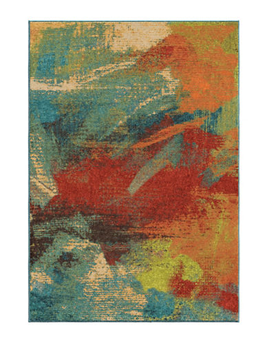 Home Outfitters Impressions Multi Area Rug-MULTI-5 x 8
