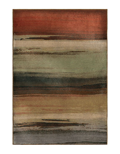 Home Outfitters Washout Multi Area Rug-MULTI-5 x 8