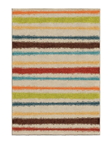 Home Outfitters Montreal Multi Area Rug - 94 Inch x 130 Inch-MULTI-8 x 11