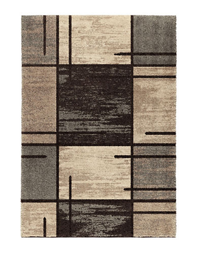 Home Outfitters Armanda Charcoal Distressed Area Rug-CHARCOAL-5 x 8