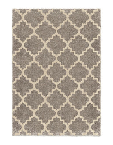 Home Outfitters Tunnis Area Rug - 94-Inch x 130-Inch-PEWTER-8 x 11