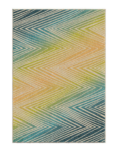 Home Outfitters Wendover Area Rug-AQUA-8 x 11
