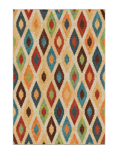 Home Outfitters Larkin Multi Area Rug - 94-Inch x 130-Inch-MULTI-8 x 11