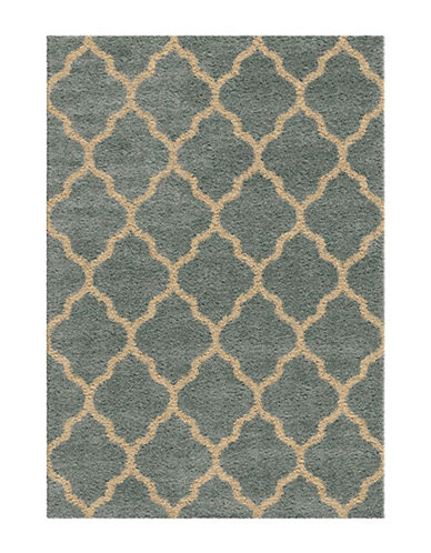 Home Outfitters Malton 94-Inch x 130-Inch Blue Area Rug-BLUE-8 x 11