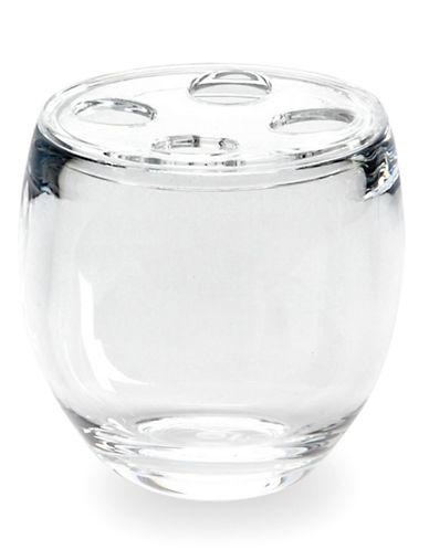 Umbra Droplet Toothbrush Holder-CLEAR-One Size