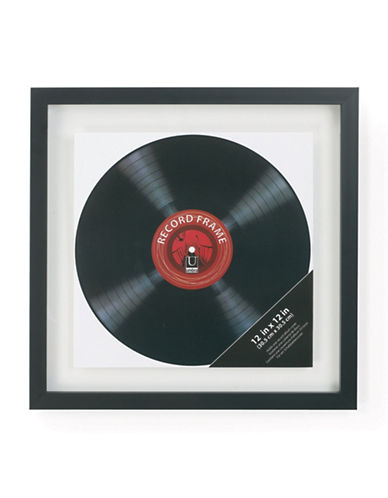 Umbra Record Display Frame-BLACK-One Size