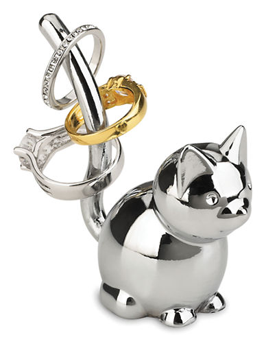 Umbra Zoola Cat Ring Holder-CHROME-One Size