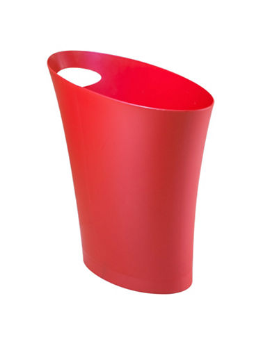 Umbra Skinny Waste Can-RED-One Size
