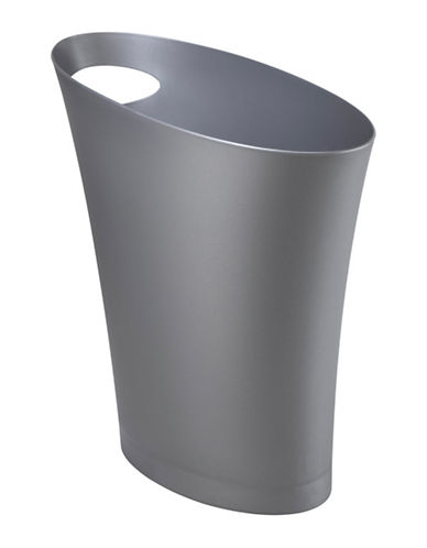 Umbra Slim Waste Can-GREY-One Size