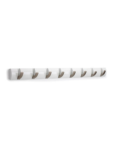 Umbra Flip Wall-Mounted 8-Hook-WHITE-One Size