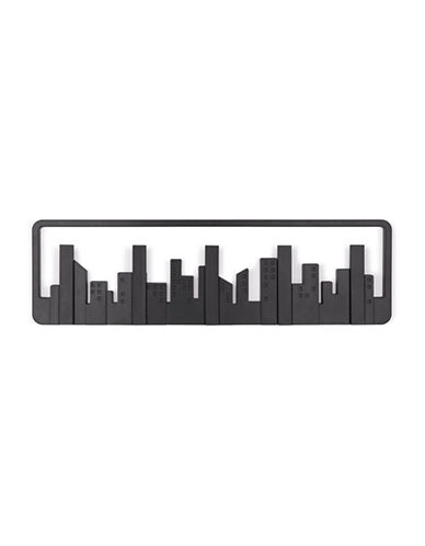 Umbra Skyline Flip 5-Hook-BLACK-One Size