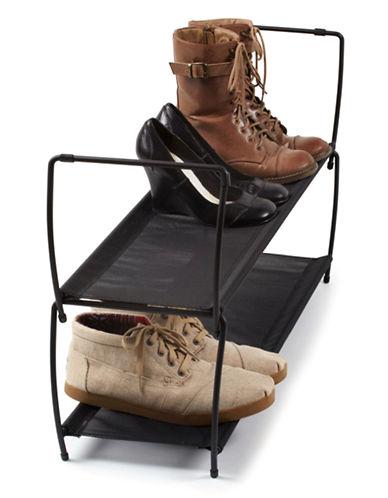 Umbra Imelda Shoe Rack-BLACK-One Size