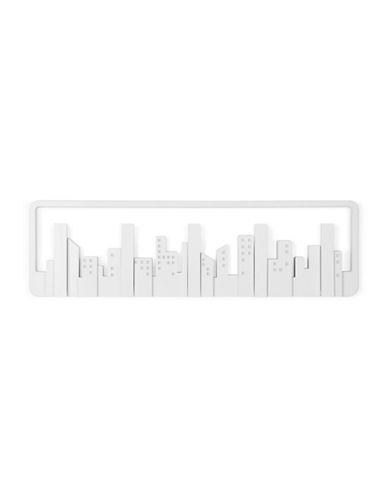 Umbra Skyline Flip 5-Hook-WHITE-One Size