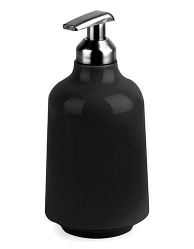 Umbra Step Soap Dispenser-BLACK-One Size