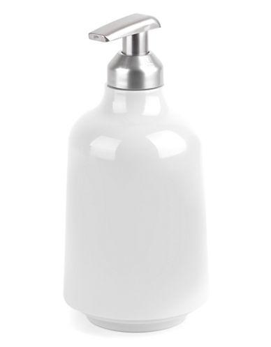 Umbra Step Soap Dispenser-WHITE-One Size