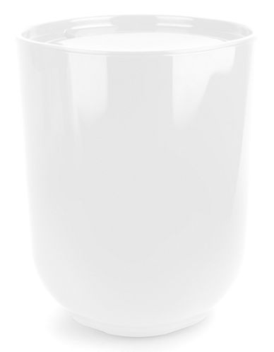 Umbra Raised Garbage Can-WHITE-One Size