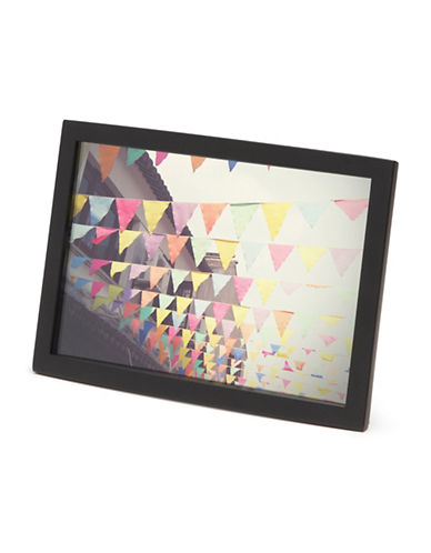 Umbra Senza Photo Frame-BLACK-One Size