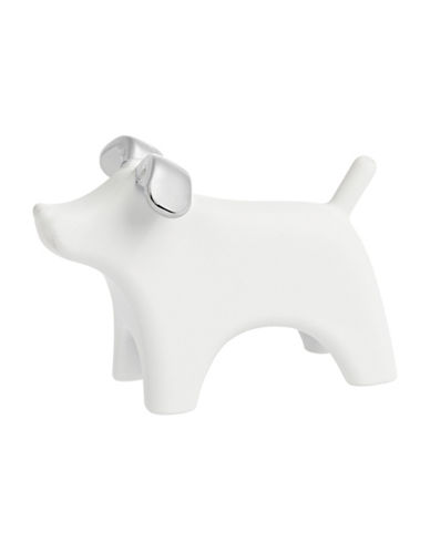 Umbra Anigram Dog Ring Holder-WHITE-One Size