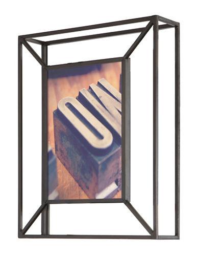 Umbra Matrix Photo Frame-BLACK-One Size