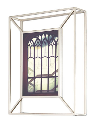 Umbra Matrix Photo Frame-NICKEL-One Size