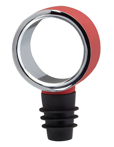 Umbra Geo Bottle Topper-RED-One Size