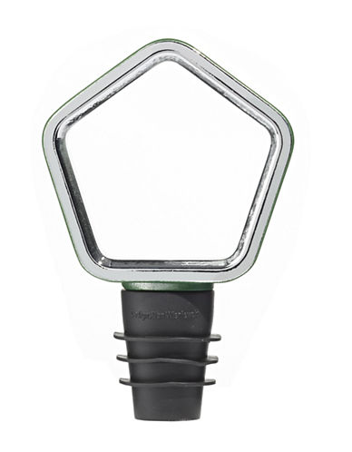 Umbra Geo Bottle Topper-HUNTER GREEN-One Size