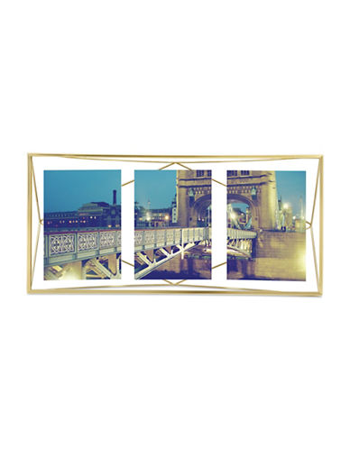 Umbra Prisma Multi-Photo Frame-BRASS-One Size