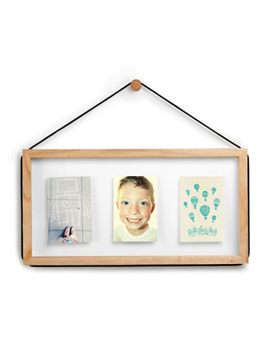 Umbra Corda 3 Opening Photo Frame-NATURAL-One Size