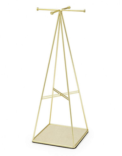 Umbra Prisma Jewelry Stand-BRASS-One Size