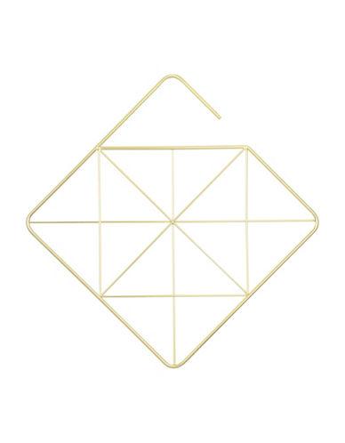 Umbra Pendant Square Hanger-GOLD-One Size