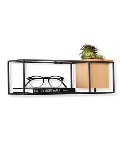 Umbra Cubist Small Shelf-BLACK-One Size