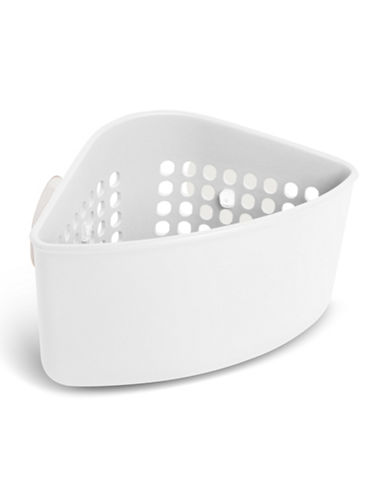 Umbra Cub Corner Caddy-WHITE-One Size