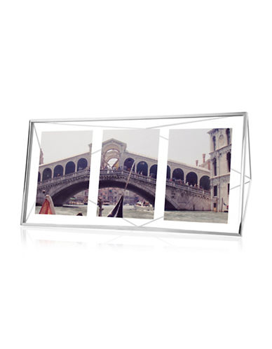 Umbra Prisma Multi-Photo Frame-CHROME-One Size