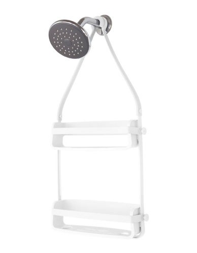 Umbra Flex Double Shower Caddy-WHITE-One Size