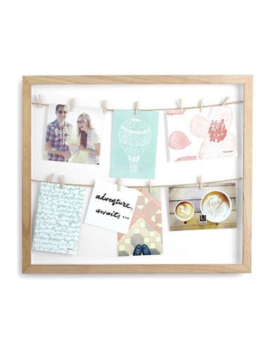 Umbra Clothesline Photo Frame-NATURAL-One Size