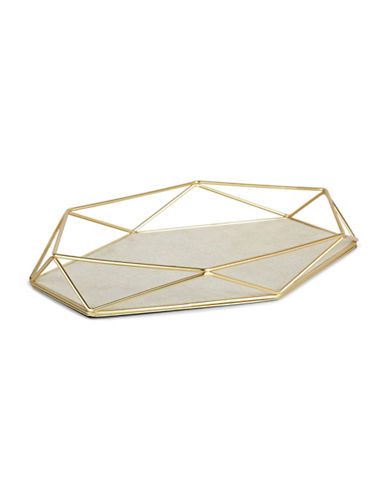 Umbra Prism Jewellery Tray-GOLD-One Size