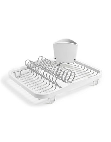 Umbra Sinkin Dish Rack-WHITE-One Size
