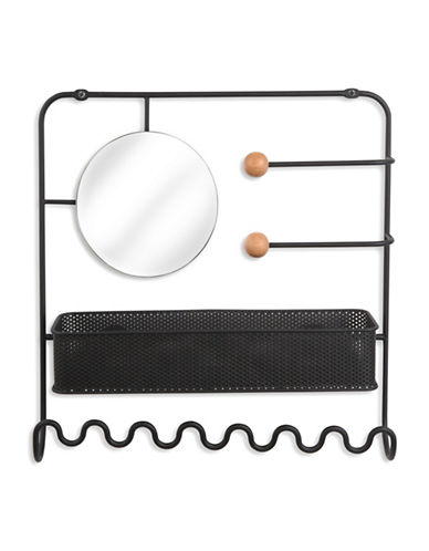 Umbra Estique Over-The-Door Accessory Organiser-BLACK-One Size